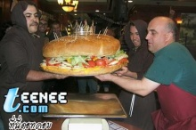 The Biggest Hamburger