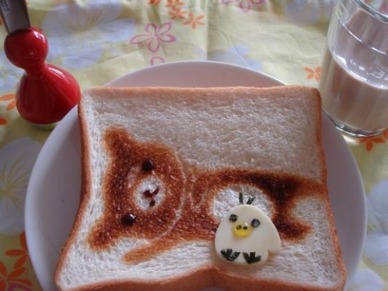 ขนมปังน่ารักๆจ้า เห็นแล้วไม่กล้ากินเลย