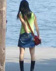 ลงเล่นๆ คนแรกที่กล้าลงภาพหลุดสาวช้วยตัวเองริมหาด(ก่อนลบ)