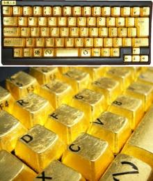 คีย์บอร์ด..ทองคำ สักอันม่ะ!!