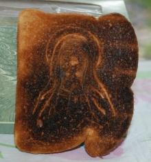 ศิลปะจากขนมปังปิ้ง