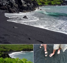 World's Most Unique 5 Strangely Coloured Beaches‏