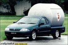 เอารถไปติดแก๊สมา...ช่างบอกว่าเติมครั้งเดียวขับได้เป็นเดือน