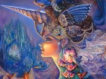 * ~ Fantasy artwork by Josephine Wall ~*
