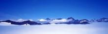 Beautiful snow Panorama