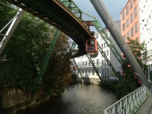 Hanging Trains @Germany