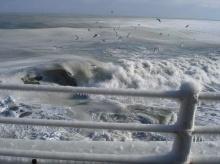 เมื่อทะเลกลายเป็น น้ำแข็ง