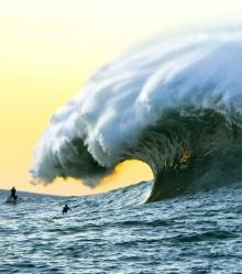 เกลียวคลื่นทะเล ที่สวยงาม