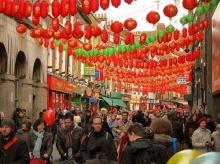บรรยากาศสวยๆ ตรุษจีน ที่ลอนดอน