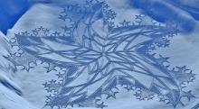 ศิลปะกลางหิมะ สวยสุดยอด