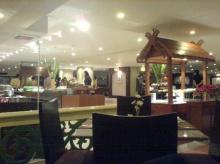บุฟเฟ่ต์อาหารทะเลที่โรงแรมค่ะ (มีเค้กด้วย)