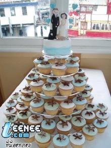 Wedding cup cakes!!!(saki)