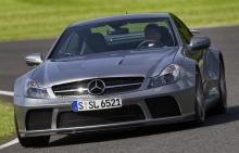 Mercedes-Benz SL65 AMG Black Series 661Hp