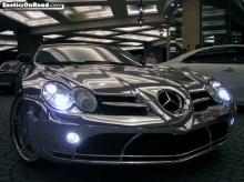 White Gold Benz
