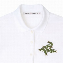 กลัวคนอื่นไม่รู้ว่าใส่เสื้อยี่ห้อ Lacoste