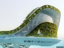 Lilypad Floating City @Dubai