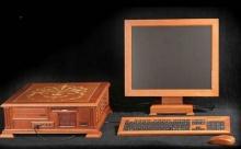 มาดูเร็ว!! คอมพิวเตอร์ทำจากไม้...