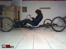 หนุ่มไอเดียบรรเจิดทำรถในฝัน!!!