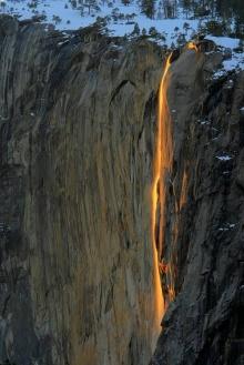 Yosemite - Fire Waterfall