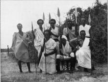 ภาพถ่ายในอดีต เหล่านักรบเผ่า Beja ในแอฟริกา
