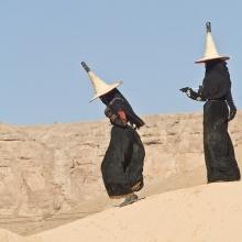 สาวแต่งแม่มดทำนา ที่เยเมน