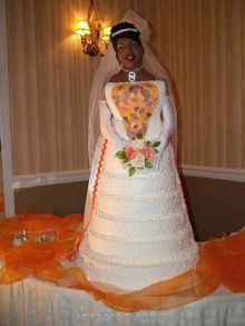 เค้กแต่งงานหรอเนี้ย...เป็นเจ้าสาวรักตายเลย