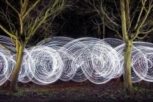 ศิลปะแสงไฟสุดตระการตา