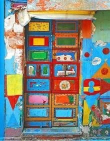 ศิลปะประตูบานสวยจากทั่วโลก