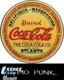 ภาพโฆษณาโค้กเครื่องดื่มที่มีอายุมายาวนานกว่า 100 ปี