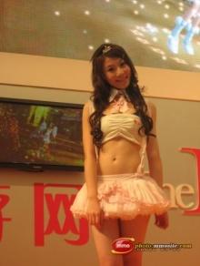 Pretty สาวจีนในงาน China Joy 2008 (saki)