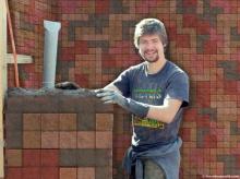 **สร้างบ้านด้วยอิฐรูปทรง Tetris **