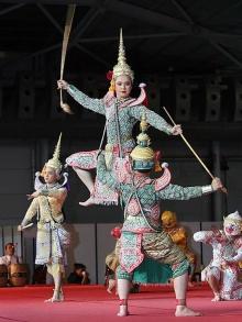 การแสดงของไทย