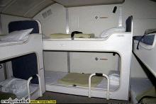 ที่นอนของแอร์ในสายการบินต่างๆ
