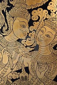 ศิลปะไทย ลายรดน้ำ