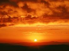 ยามเมื่อท้องฟ้าเป็นสีแดง