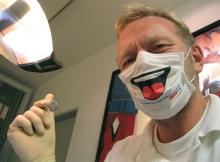 ที่ปิดปากเก๋ๆ สำหรับคุณหมอฟัน