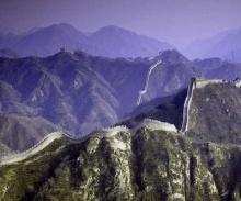 กำแพงเมืองจีน..