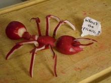 งานศิลป์ อาร์ตๆจากอาหาร ผัก ผลไม้