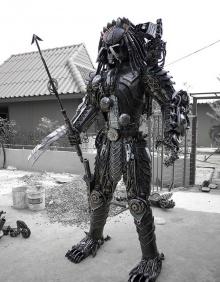 หุ่นยนต์เศษเหล็ก ฝีมือคนไทย ที่โด่งดังไกลทั่วโลก