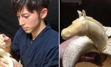 ศิลปะการแกะสลักกล้วย