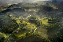 เบิร์ดอายวิว ชมวิวสวยแสนประทับใจ ภาพถ่ายทางอากาศ