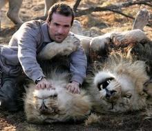 มิตรภาพระหว่าง คน & สิงห์โต