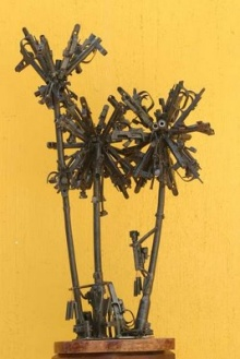Guns Into Sculptures