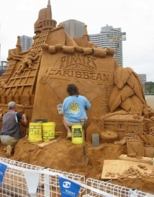 ~~~Incredible sand sculptures~~~