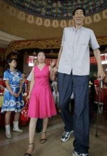 มาดูชายที่สูงที่สุดในโลกแต่งงานกัน!!