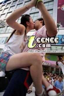 แข่งจูบที่ประเทศจีน, (ลีลาเด็ดสะระตี่)