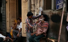 ช่างตัดผมในอินเดีย