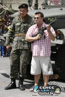 ทหารไทยขวัญใจนักท่องเที่ยว1
