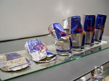 Red Bull can art