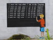 Graffiti บนกำแพงสุดแจ๋ง